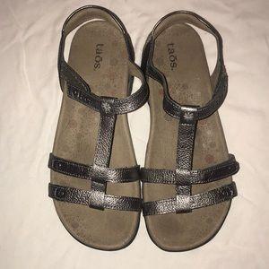 Taos metallic sandals